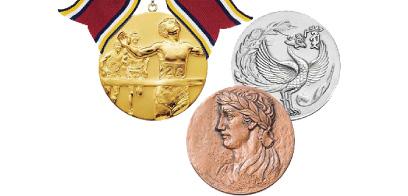Lサイズメダル