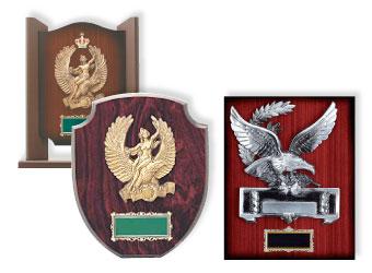 木製楯 鷲