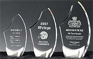 セミオーダーガラス製楯 W-SHS-7292